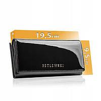 Жіночий шкіряний гаманець Betlewski з RFID 19,5 х 9,5 х 4 (BPD-BS-72031) - чорний, фото 1