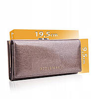 Жіночий шкіряний гаманець Betlewski з RFID 19,5 х 9,5 х 4 (BPD-BS-72031) - сірий, фото 1