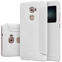 Кожаный чехол Nillkin Sparkle для Huawei MATE S белый