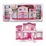 Дом для кукол My New Home 6661/6662,  2 цвета, в коробке, свет, звук