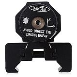 Тактичний ЛЦУ червоний точковий лазер на планку 11-22 мм, фото 5