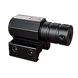Тактический ЛЦУ  красный точечный лазер на планку 11-22 мм, фото 6