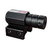 Тактичний ЛЦУ червоний точковий лазер на планку 11-22 мм, фото 6
