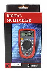 """Мультиметр """"Digital"""" (Тестер), UT33D типи вимірювань - DCV, АCV, DCA, АСА, Ом."""