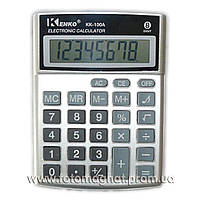 Калькулятор настольный бухгалтерский Kenko 100A/100B