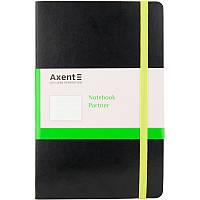 Записная книга А5 Axent Partner Flex, черная, 96 л. в точку 8209-01, фото 1