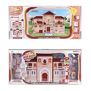 Дом для кукол My New Home 6653/6654,  2 цвета, в коробке, свет, звук
