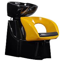 Парикмахерская мойка с пластиковым креслом, модель 322