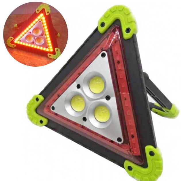Прожектор аккумуляторный знак аварийной остановки LED 4 режима UKC LL-303 30W MULTIFUNCTIONAL WORKING LAMP