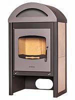 Отопительная печь-камин FLAMINGO MELAND бежевый (120-200 м. куб)