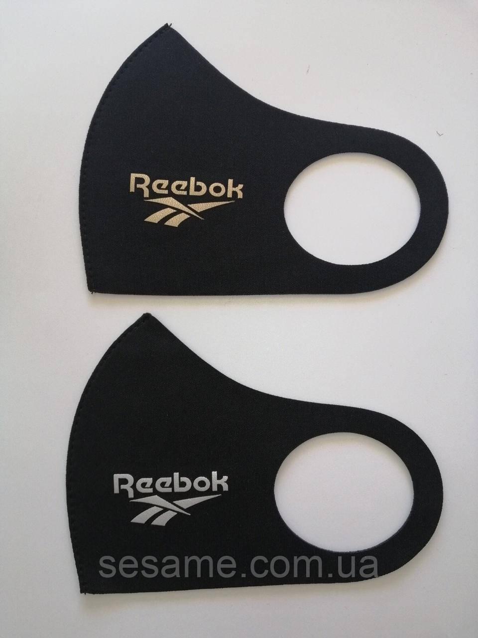 Защитная Маска Питта принт Reebok многоразовая маска