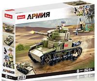 """Конструктор Sluban b0711 """"Военный танк 2в1"""" 463 деталей, фото 1"""