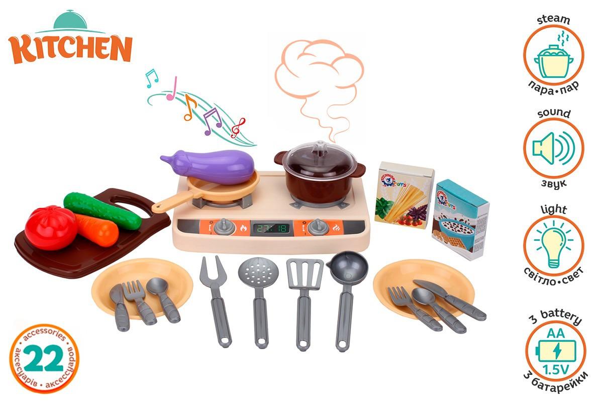 Кухня ТехноК з електронним модулем, арт. 5620 – дитячий ігровий набір