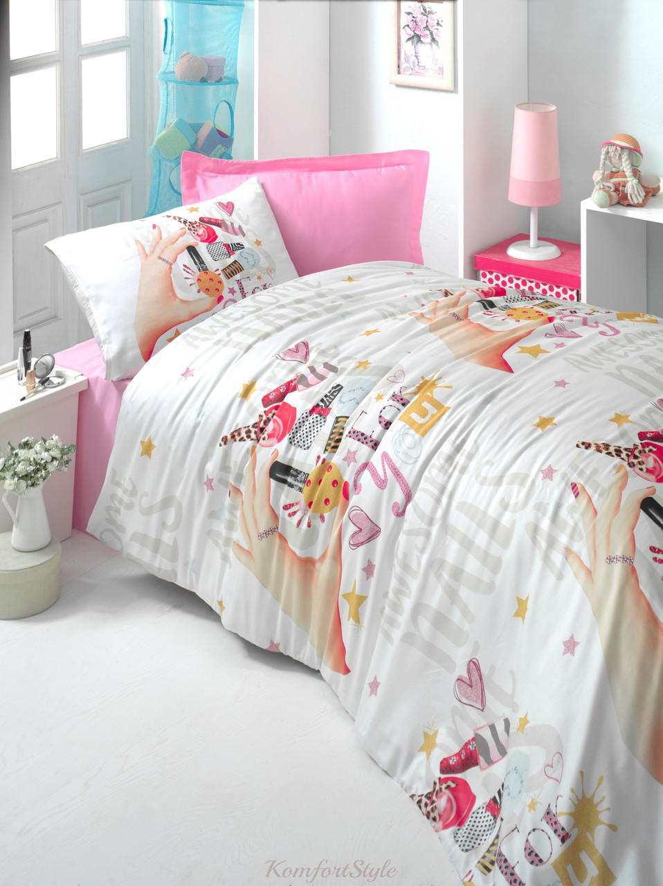 Комплект постельного белья LIGHTHOUSE  ranforce BEAUTIFULLY 160*220/2*50*70*