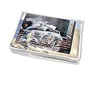 """Євро комплект (Бязь) постільної білизни """"Королева Ночі""""   Постільна білизна від виробника   Абстракція, фото 4"""