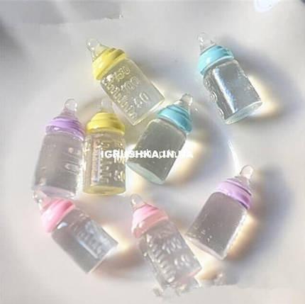 Шарм «Детская бутылочка с соской» для слайма, фото 2