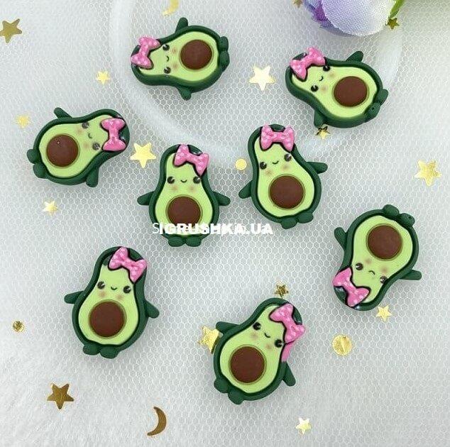 Шарм «Авокадо-Девочка» для слайма