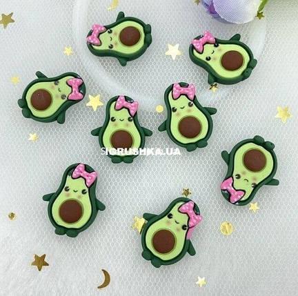 Шарм «Авокадо-Девочка» для слайма, фото 2