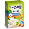 Каша сухая безмолочная Беллакт пшеничная с абрикосом и яблоком (200 гр.)