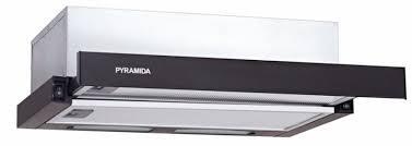 Телескопічна витяжка кухонна PYRAMIDA TL 60 slim BL