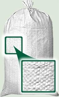 1,05 х 0,55 не Б/У (чорно-червона смуга) мішок білий (цукровий) поліпропіленовий