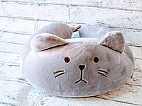 Дорожная подушка для сна Котенок, фото 1
