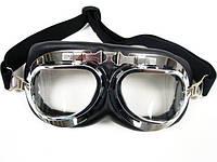 Очки (маска) Авиатор в стиле стимпанк / паропанк.