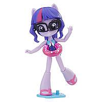 Кукла пони Искорка пляжная серия Hasbro My Little Pony Equestria Girls Twilight Sparkle Уценка