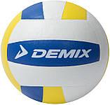 Мяч волейбольный Demix, белый/желтый/синий, 5, фото 2