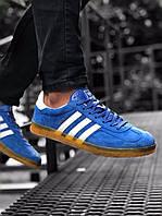 Кроссовки мужские Adidas Gazelle Blue Gum Синие, фото 1
