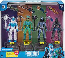 Игровой набор 4 фигурки Фортнайт 2 серия Fortnite Squad Mode