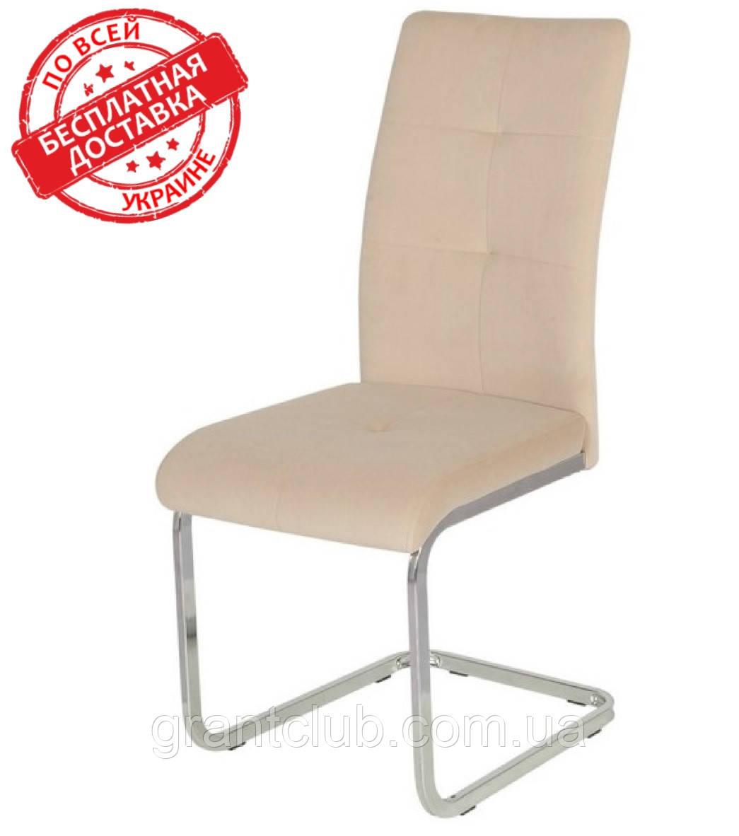 М'який стілець S-119 капучіно вельвет Vetro Mebel (безкоштовна доставка)