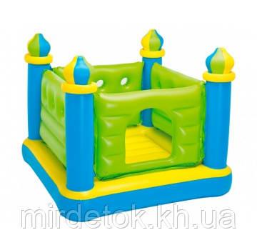 Детский надувной игровой центр - батут Intex 48257 Замок