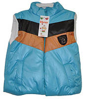 Жилет детский для мальчика , утепленный ( от 1-5 лет). Детская одежда оптом.