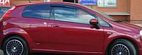 Ветровики Фиат Гранде Пунто | Дефлекторы окон Fiat Grande Punto III 3d 2005
