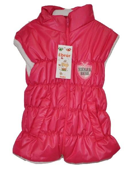 Жилет детский для девочки , утепленный ( от 1-4 лет). Детская одежда оптом.
