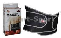 Пояс корсет для поддержки позвоночника BACK SUPPORT SOLEX BNS-520E-B (неопрен, р-р 23x95см, черный)