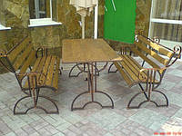 Садовый набор кованой мебели