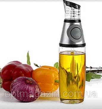 Бутылка Дозатор VBV Press and Measure Oil Dispenser с дозатором для масла, фото 2