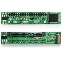 Адаптер IDE 44 pin (папа) — SATA 2.5-3.5 мама. Данный адаптер позволяет подключить 2.5 (3.5) SATA HDD в старых