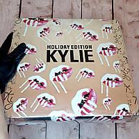 Набор подарочный Кайли Holiday Big Box Серебро | Подарочный набор декоративной косметики Kylie (живые фото)