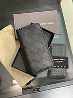 Кошелек клатч портмоне BOTTEGA VENETA бумажник мужской женский премиум реплика AAA+