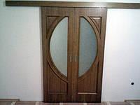 Двері шпоновані дубом Любомиля