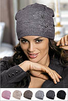 Красивая шапка от Kamea -Belisa-bandamka .