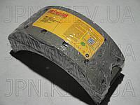 Накладки тормозные MITSUBISHI CANTER FUSO 639/659/859 (MK321243/MC894239/ MB295179/MB060596/MB162427) FRENTEK, фото 1