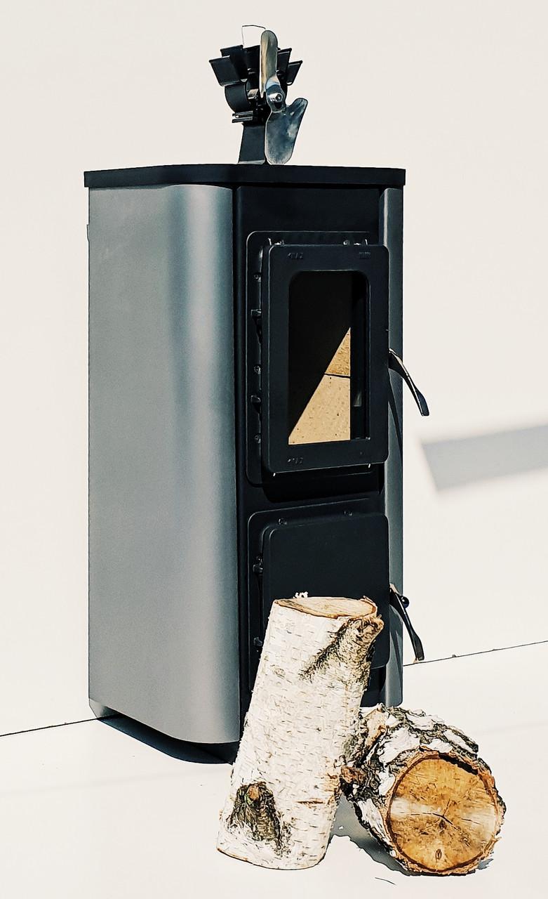 Печь камин для дачи с плитой Thorma MERANO (печка Торма Мерано)