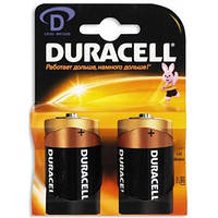 DURACELL D / LR20 / MN1300 KPN 02 * 10 2 шт.Батарейка щелочная;размер D;напряжение 1.5 В;цилиндрическая фор