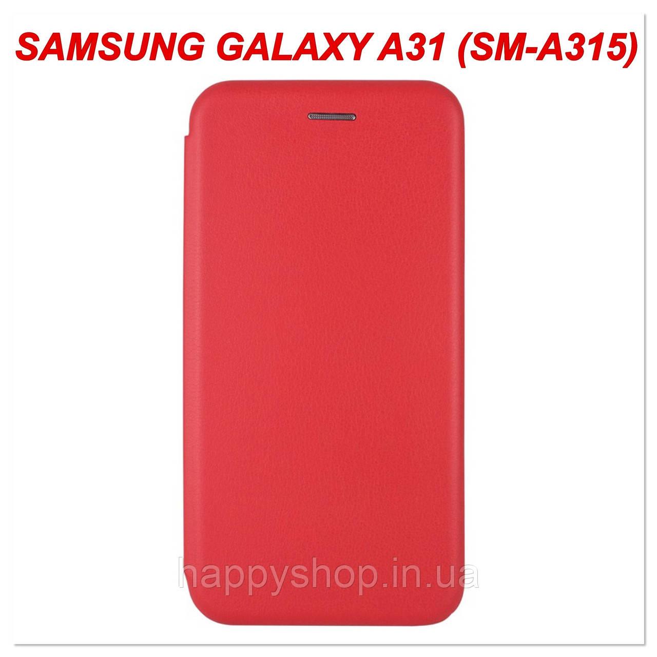 Чехол-книжка G-Case для Samsung Galaxy A31 (SM-A315) Красный