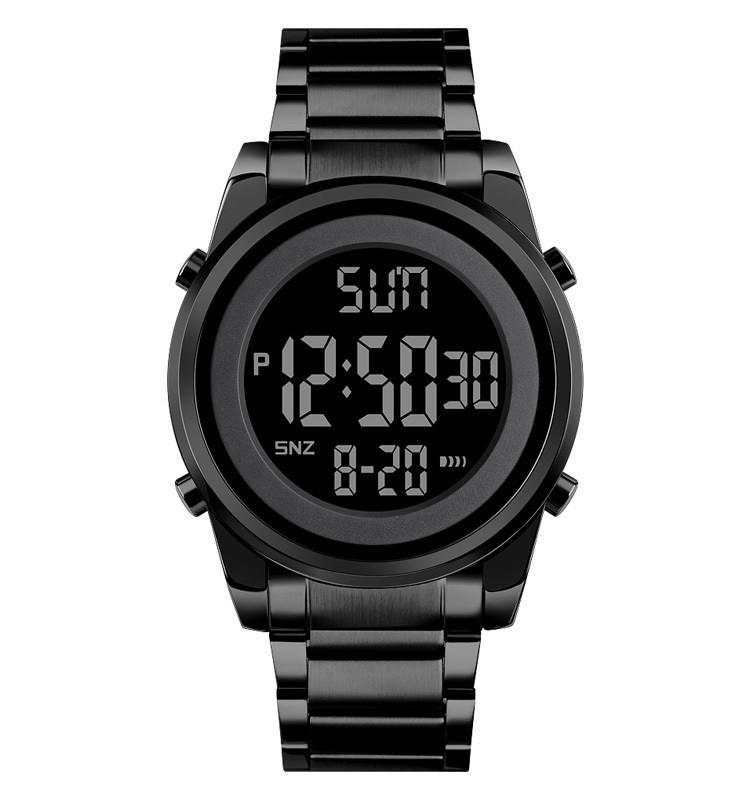 Skmei 1611 Чорні чоловічі спортивні годинник