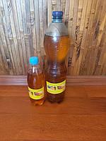 Льняное масло 2 л бутылка с воском для пропитки дерева - Упаковка 1.5 л+0.5 л